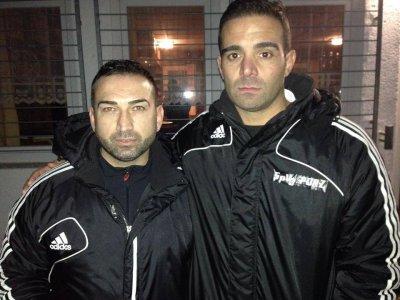 Erkan Daskin (l.) und Ümit Bozkurt: Beide Trainer waren gezeichnet von einem denkwürdigen Spiel.